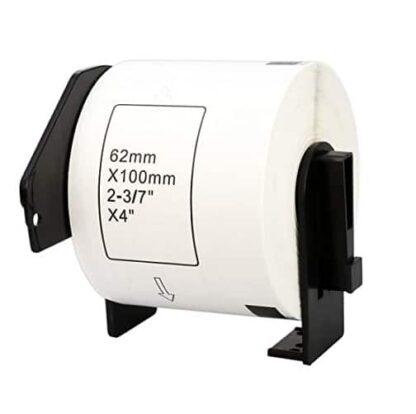 Brother DK11202 - shipping etiketter - 300 stk - 62 x 100mm - Kompatibel