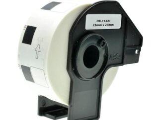 Brother DK11221 etiketter - 1000 stk - 23 x 23mm - Kompatibel