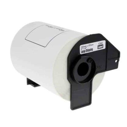 Brother DK11241 shipping etiketter - 200 stk - 102 x 152mm - Kompatibel
