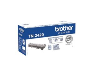 Brother TN2420 sort toner 3.000 sider - TN2420 - original