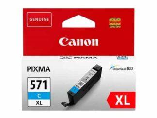 Canon CLI-571XLC cyan blækpatron 11ml - 571XLC-original