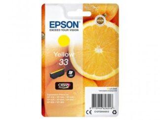 Epson 33 gul blækpatron 4
