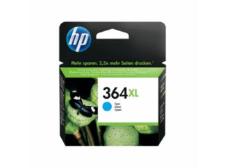 HP 364XL cyan blækpatron 6ml - CB323EE - original
