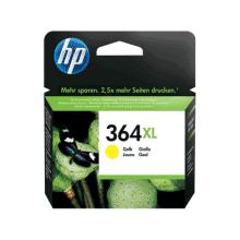 HP 364XL gul blækpatron 6ml - CB325EE - original