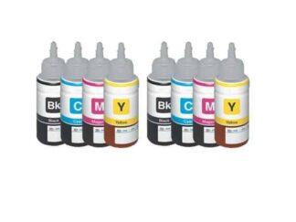 Rabat sæt! Epson T6641 - T6644 - 2 x 4 farver BK-C-M-Y - Uoriginal