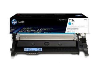 HP 117A cyan toner 700 sider original - W2071A