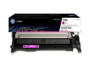 HP 117A magenta toner 700 sider original - W2073A