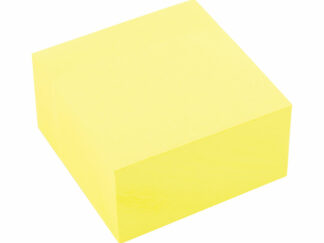 Notes blok alternativ til Post-it 6 stk. Gul med 400 pr blok 76x76mm