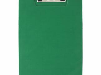 Clipboard A4 grøn med klemme