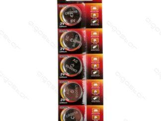 CR2016 5 stk 3V knapcelle batteri Lithium