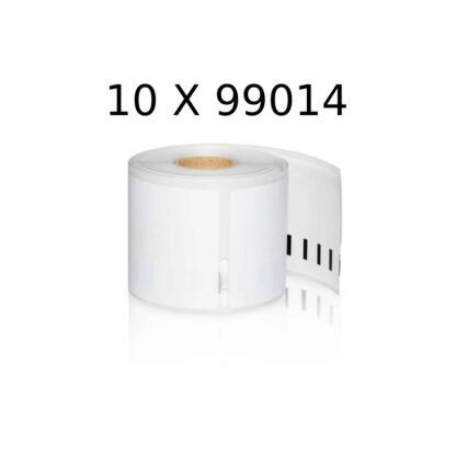 Dymo 10 st 99014 fraktetiketter 10 x 220 st - 101 x 54mm - Kompatibel - S0929080