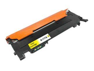 HP 117A gul tonerkassett 700 sidor kompatibel - W2072A