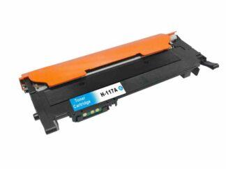 HP 117A cyan tonerkassett 700 sidor kompatibel - W2071A