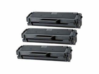 Rabattpaket! 3 st Samsung MLT-D101S svart tonerkassett 3 x 1.500 sidor totalt – Kompatibel