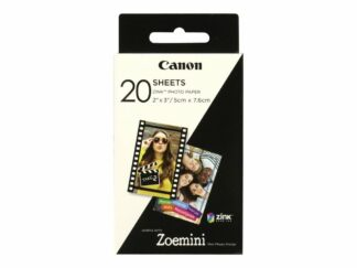Canon fotopapper 5x7.6cm 20 ark - 3115046